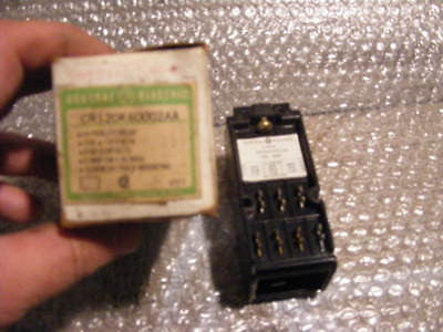 General Electric GE RELAY Switch CR120K60002AA