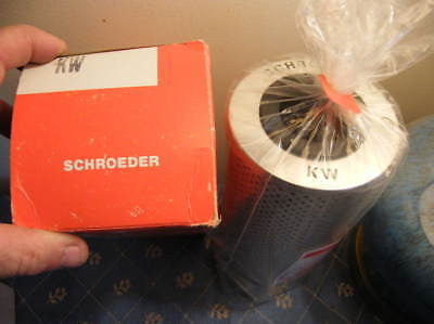 SCHROEDER Kw NSFP Kw FILTER ELEMENT