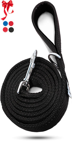 Pets Lovers Club Strong Reflective Dog Leash for Medium and Large Dogs - Comfortable Walks - Padded Handle to Hold Strong Dogs - Reflective Material for Safer Walks - 6 Feet Long by 1 Inch Wide