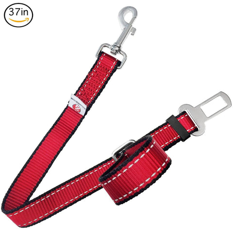 PetsLovers Premium Pet Seat Belt (22-37in - Large Pets) - Pets Lovers Club - 1