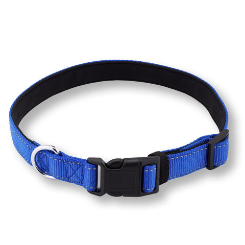 PetsLovers Premium Dog Collar (Large, Blue) - Pets Lovers Club - 1