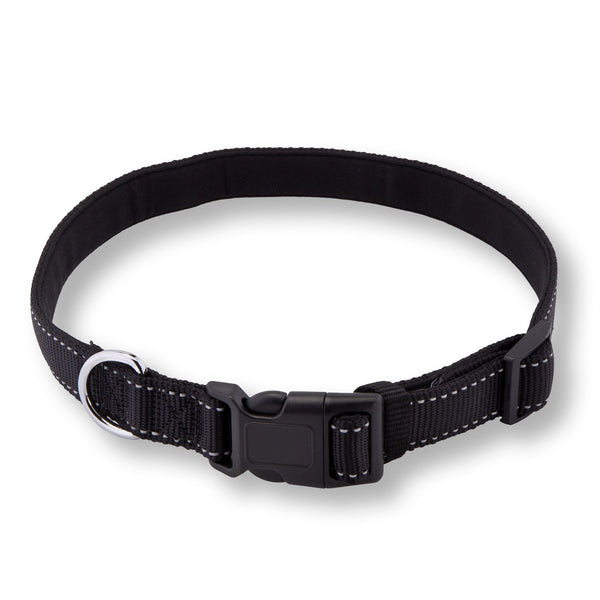 PetsLovers Premium Dog Collar (Large, Black) - Pets Lovers Club - 1