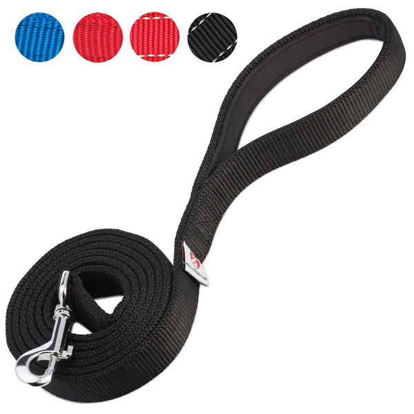 PetsLovers 2-layer 6ft Dog Leash - Black - Pets Lovers Club - 1