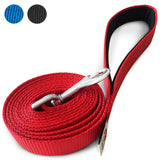PetsLovers 1-layer 6ft Dog Leash - Red - Pets Lovers Club - 1