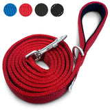 PetsLovers 2-layer 6ft Dog Leash - Reflective Red - Pets Lovers Club - 1