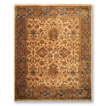 "8'8""x11'10"" Beige Grey Brown, Olive, Tan, Rust, Multi Color Hand Knotted Persian Oriental Area Rug Wool Traditional Oriental Rug"