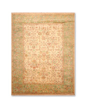 8'x10' Beige  Green  Rust, Tan, Brown, Multi Color Hand Knotted Persian Oriental Area Rug 100% Wool Traditional Oriental Rug