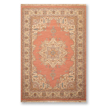 "6'3""x9'2"" Rust Beige Blue, Green, Brown, Multi Color Hand Knotted Persian Oriental Area Rug Wool Traditional Oriental Rug"