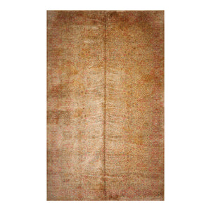 10' x18'  Beige Rose Gold Color Machine Made Persian 100% Wool Traditional Oriental Rug