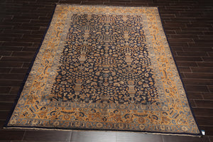 8' 8''x11' 10''Hand Knotted Wool Oriental Area Persian Rug