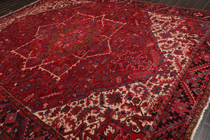 10' 5''x12' 7''Hand Knotted Wool Oriental Area Persian Rug