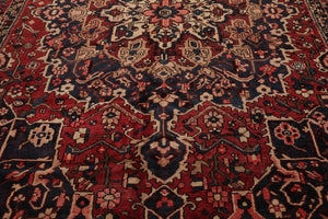10' 5''x11' 10''Hand Knotted Wool Oriental Area Persian Rug