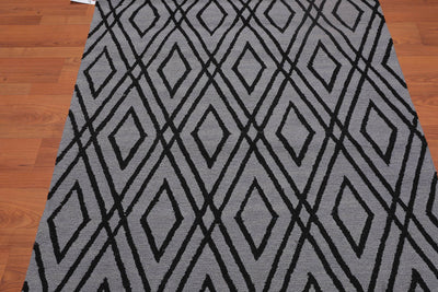8'x10' Green Ivory Grey, Lavender, Rose, Rust, Brown, Multi Color Hand Woven French Needlepoint Area Rug Wool Traditional Oriental Rug