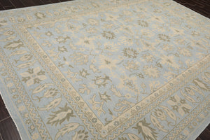 "4'7""x9'9"" Rust Tan Beige, Blue, Charcoal Color Hand Woven Persian Oriental Area Rug Wool Traditional Oriental Rug"