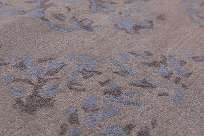 4'x6' Aqua Rose Multi Color Hand Woven French Flatweave Area Rug Wool Traditional Oriental Rug