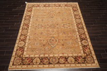 8' x 10' Hand Knotted Tufenkian look 100% Wool Arts & Crafts Tibetan Area Rug