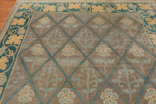 8'x10' Authentic Tufenkian Arts & Crafts Hand Knotted 100% Wool Tibetan Area Rug