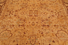 "8' x 10'2"" Peshawari Fereghan Antique finish Hand knotted Wool Persian Area Rug"