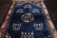 8' x 10' Hand Knotted Indian Agra 200 KPSI Wool & Silk Persian Oriental Area rug