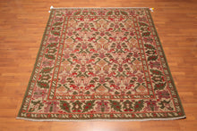 "7'9""x8'10"" Hand Knotted Authentic Turkish Oushak NOT REPLICA 100% Wool Area Rug"