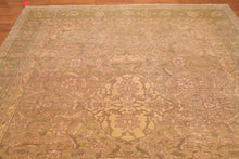 "8'10"" x 9'1 Hand Knotted Authentic Turkish Oushak 100% Wool Area Rug"