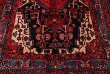 "' x 12'4"" Hand Knotted Medallion Heriz 100% Wool Persian Oriental Area Rug"