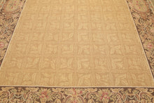 "8'1""x11'6"" Asmara Hand Woven Garden & Birds 100% wool French Aubusson Area Rug"