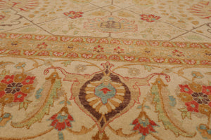 "8' x 10'11"" Hand Knotted Botanical Motifs Wool Persian Oriental Area rug"