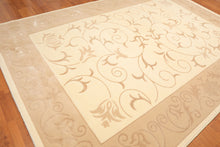 "7'10"" x 11'6"" Transitional Wool & Art Silk Area Rug"