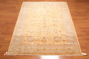 "8'x11'6"" Hay Grey Brown, Tan, Muted Earth Tones Color Hand Knotted Persian Oriental Area Rug 100% Wool Traditional Oriental Rug"