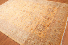 "8' x 11'6"" Hand Knotted Gold Wash Silky Sheen Wool Persian Oriental Area rug"