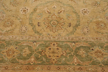 9'x12' Warm Beige Pale Pink Rust, Burgundy, Tan, Brown, Multi Color Hand Woven Aubusson Area Rug 100% Wool Traditional Oriental Rug