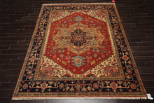 10x14  Hand Knotted Gold, Burgundy, Black Color Persian 100% Wool Neo Classic Traditional Oriental Rug