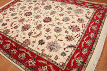 "8' x 10'6"" Hand Knotted 200 KPSI 100% Wool Ispahan Persian Oriental Area Rug"