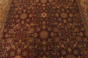 "7'9"" x 9'10"" Hand Knotted 100% Wool 200 KPSI Persian Oriental Area Rug"