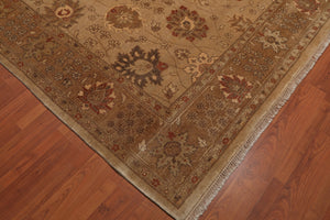 "8'5"" x 911"" Hand Knotted Peshawar Stone Wash Wool Persian Oriental Area rug"