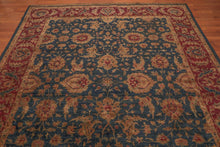 8' x 10' Hand Knotted Agra Tea wash 100% Wool Persian Oriental Area Rug 8x10