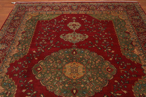 "8'2""x10"" Hand Knotted Masterpiece 300 KPSI Wool Persian Oriental Area Rug"
