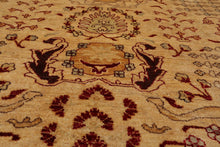 8'x8' Hand Knotted Wool 200 KPSI Medallion Round Persian Oriental Area Rug 8x8