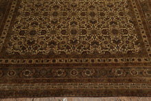 "8'1"" x 12'3"" Hand Knotted Nain Wool & Silk Authentic Persian Oriental Area rug"