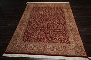 "7'7"" x 11' Authentic Heriz Hand Knotted 100% Wool Persian Oriental Area Rug"