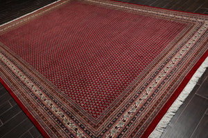 "7'5""x9'7"" Authentic Gabbeh 300 KPSI Hand Knotted Wool Persian Oriental Area Rug"
