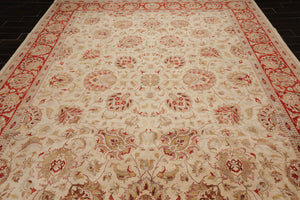 "8'9""x 11'7"" Hand Knotted Vegetable Dyes Tea Wash Wool Persian Oriental Area Rug"
