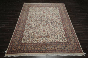 "7'11"" x 11' Vintage Authentic Persian Hand Knotted Wool Oriental Area rug"
