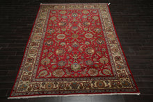 "8'10"" x 12'1"" Hand Knotted Wool Jaipur Tea Wash Persian Oriental Area Rug"