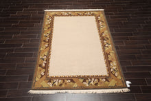 5' 10''x8' 5''Hand Knotted Wool Oriental Area Persian Rug