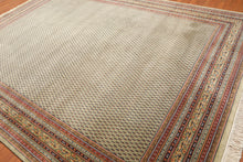 "9' x 12'2"" Hand Knotted Wool Boteh Paisley 200 KPSI Masterpiece Persian Area Rug"