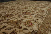 8' x 12' Antique Hand Knotted Sarouk 250 KPSI Masterpiece Wool Persian Area Rug