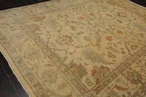 "8'10"" x 12'1"" Hand Knotted 100% Wool 150 KPSI Persian Oriental Area Rug"