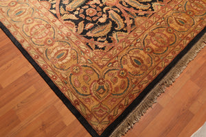 "8'11"" x 11'5"" Hand Knotted 100% Wool Sultanabad Persian Oriental Area Rug"